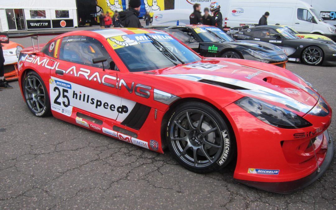 Ginetta GT supercup 2013