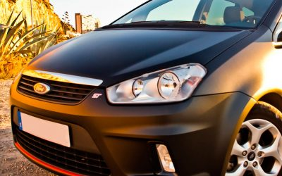 Ford Cmax ST en negro mate!