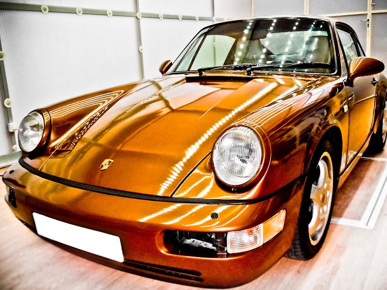 Porsche 964 renovado